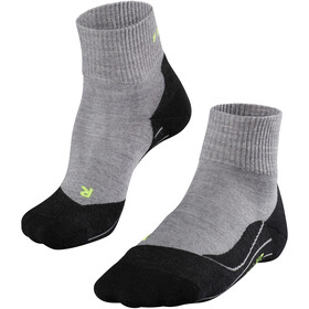 Falke TK5 Kurze Trekkingsocken Herren light grey